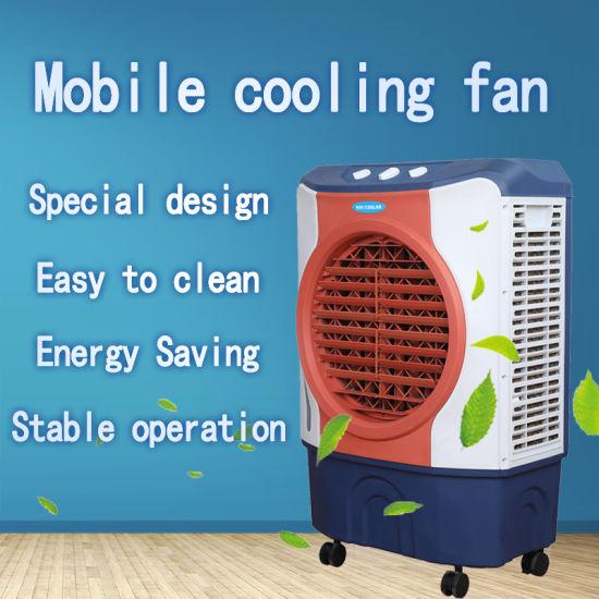 Portable Evaporative Air Conditioner Household Mobile Ventilation System
