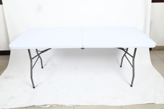 6ft Portable Heavy Duty Home Depot Plastic Folding Table China Rectangular Made In Com