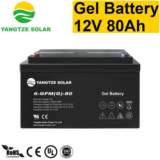 3 Years Warranty Yangtze 12V 80ah Deep Cycle Battery Charger pictures & photos