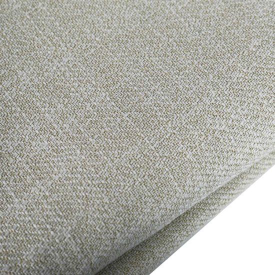 Jacquard Pure Natural Linen /Linen Textile Fabrics Linen Sofa and Curtain Fabric
