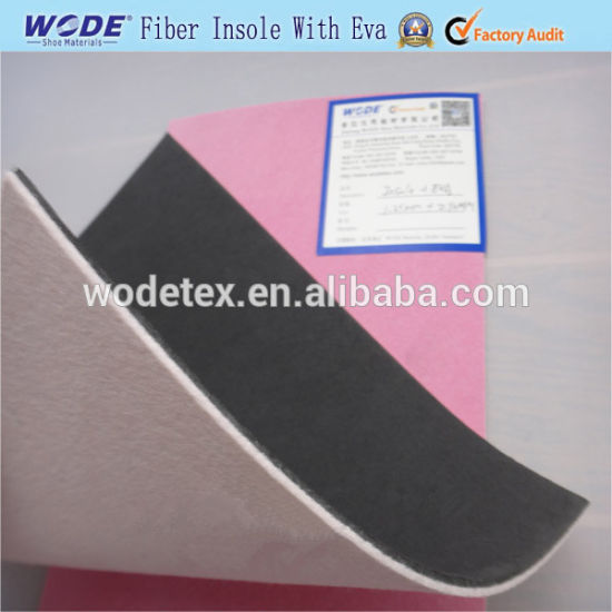 Latex Foam Laminated with Fiber Insole Board