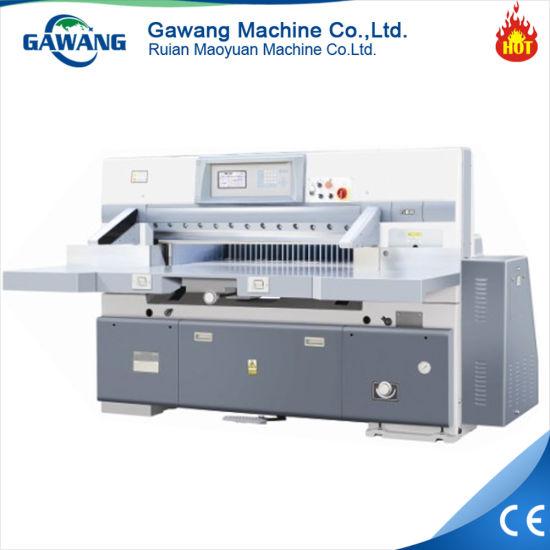 Program Control Double Hydraulic Paper Cutting Machine/Paper Cutter/Guillotine Machine (920/1150/1300/1370) with Ce