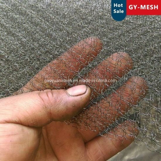 10mm -1500mm Width Stainless Steel Knitted Wire Mesh for Filter