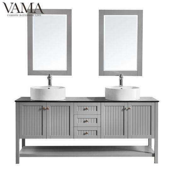Contemporary Office Interior Design, Vama 72 Inch Waterproof Double Sink Bathroom Vanity Cabinet Furniture 756072 China New Product Vanity Floor Standing Vanity Made In China Com