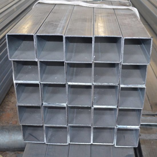 Black Iron Square Tube / Black Rectangular Steel Tube