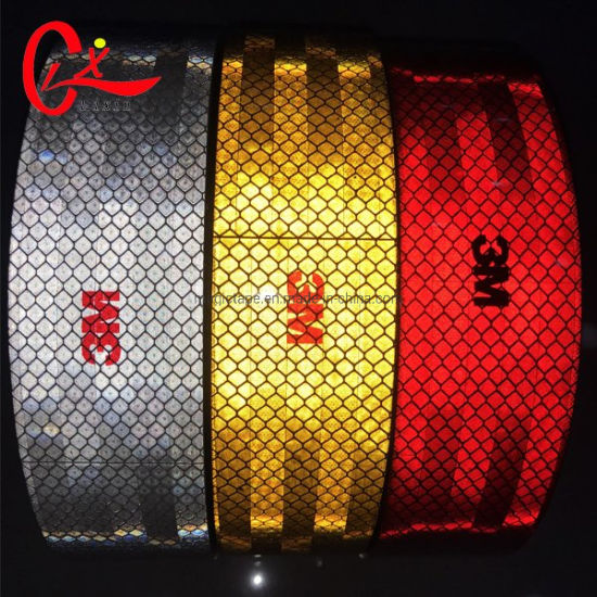 5cm 50y South Africa Road Signs Red Color Rainbow 3m Retro Reflective Tape And Stickers Glow In The Dark Markers