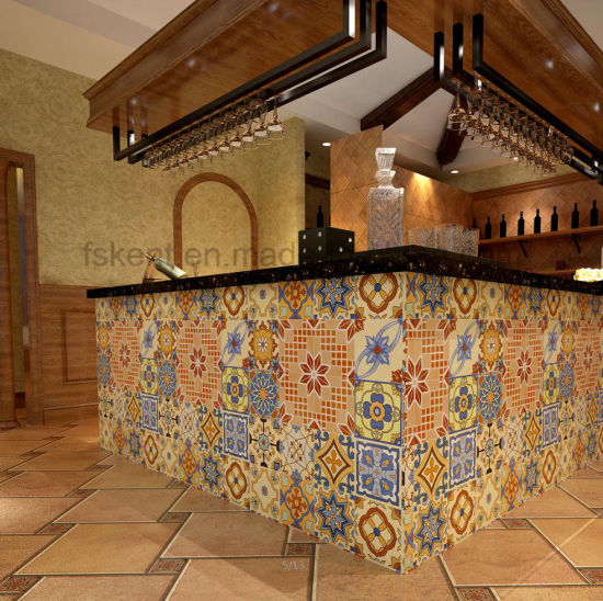 China Colourful Roman Ceramic Matted Finished Floor Wall