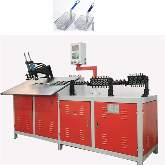 Handle Basket 2D CNC Automatic Stainless Steel Wire Bending Machine