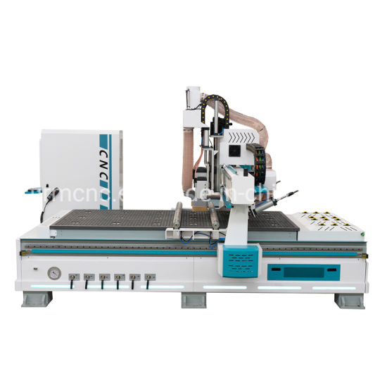 New Design Automatic Tool Changer 3D Wood Carving CNC Router Machine for Furniture