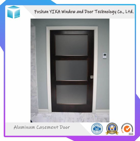 New Design Interior Stainless Steel Security Iron Swing Door pictures & photos