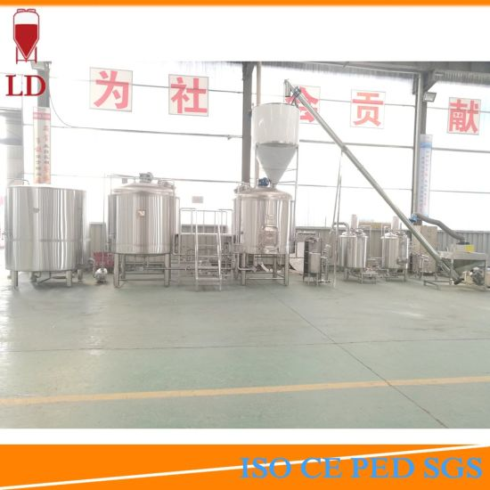 Electric Steam Direct Fire Heating Draught Beer Fermenting Making Brewery Equipment Store pictures & photos