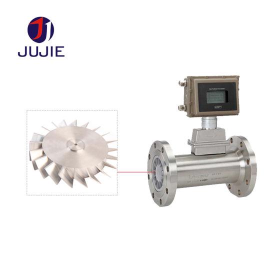 Gas Turbine Wheel Flow Meter for Measurement of Industrial Gas