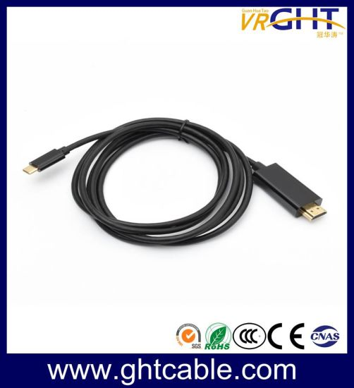 USB 3.1 Type C to HDMI Adapter Connector HDTV Cable