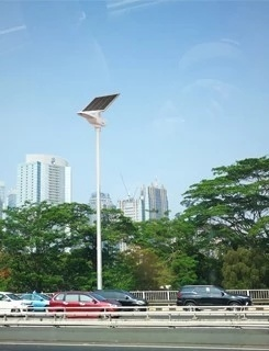 30W All in One Design Chip Integrated Solar LED Light