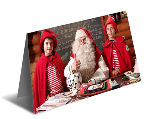 2019 Beautiful Merry Christmas 3D Lenticular Greeting Post Card DIY Christmas Greeting Card pictures & photos