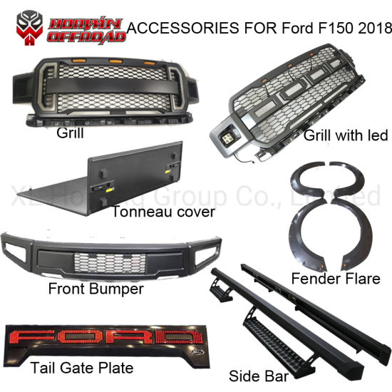 2018 2019 Front Mesh Grill For Ford F150 Grille Ford F150 Accessories