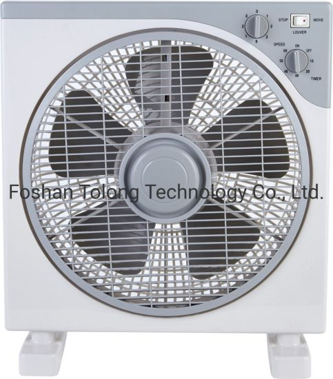 12 Inch Cheap Box Fan with Timer
