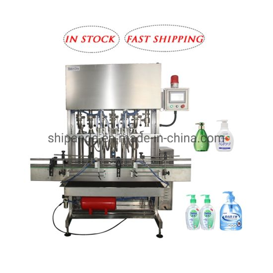Liquid Soap Body Lotion Shampoo Botting Machine/Alcohol Medical Disinfectant Filling Machinery/Automatic Hand Sanitizer Bottle Filling Capping Labeling Machine