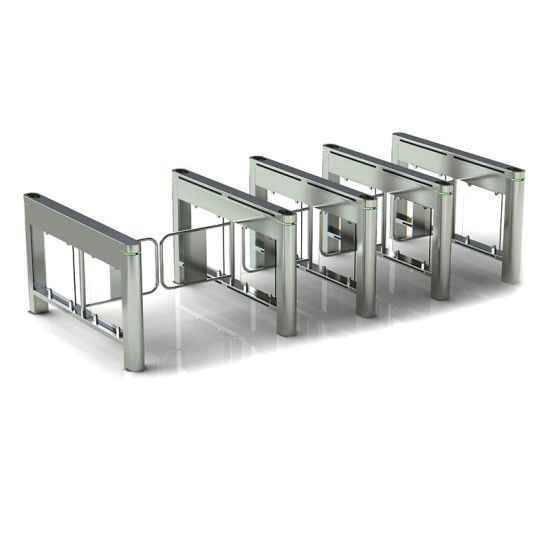 Access Control Full Automatic Swing Barrier Turnstile Gate