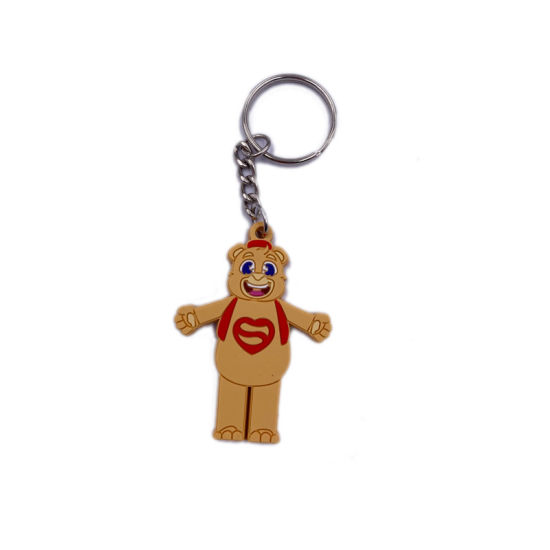 High Quality Soft PVC Keychain for Promotion or Souvenir