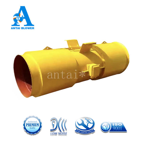 OEM Top Quality SDS-2p-8.1m3/S Tunnel Jet Fan/ Axial Flow Blower with Silencer