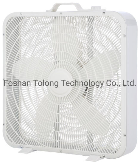 18 Inch Turbo Box Fan for South America & Mexico