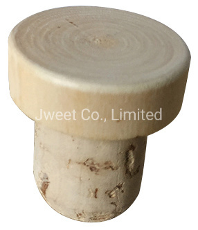 OEM Wine Bottle Pale Color Wooden Cork Different Size