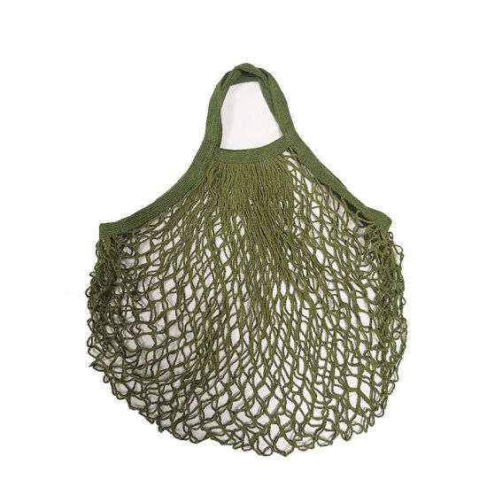 String Grocery Cotton Tote Mesh Net Bag Shopping Produce Bags