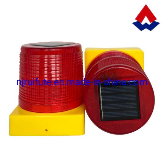 Solar LED Post Warning Light Road Safety Beacon Light