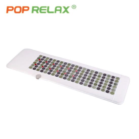 Pop Relax Photon Jade Tourmaline Mat Stone Heat Mattress Price LED Light Mat Pemf Vlf Fir