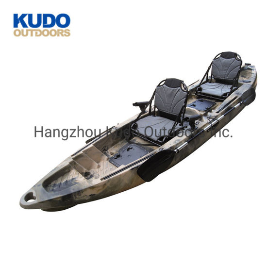 Giant 390 Best Double Seat Fishing Kayak with Aluminum Seat