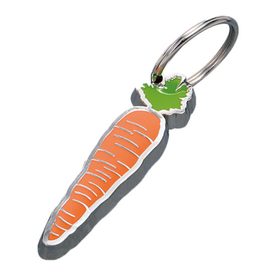 Custom Metal Carrot Key Chain for Promotion Gifts