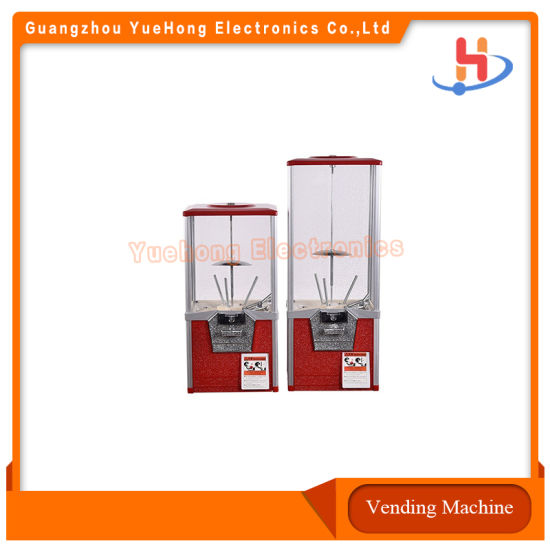 Outdoor Mini Automatic Candy Dispenser Gumball Vending Machine
