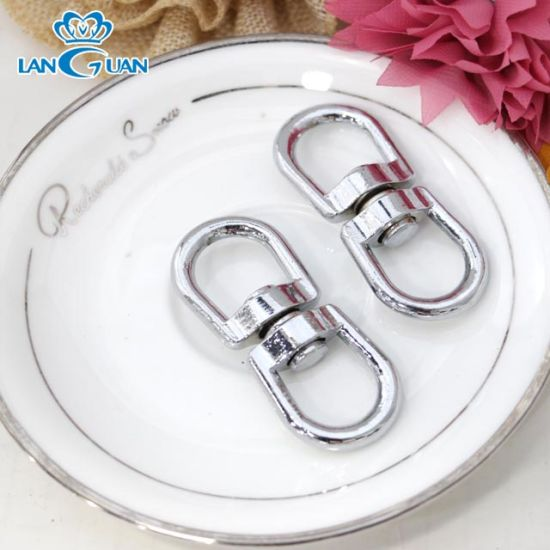 Wholesale Key Chain Metal Round Key Ring with Hooks