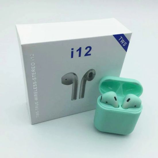 I12 Factory Wholesale Tws 5.0 Touch Control Earbuds Bluetooth Wireless Headphone pictures & photos