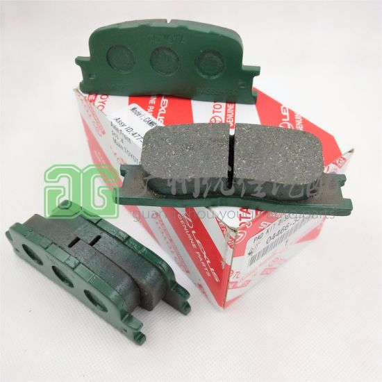 04466-33120 Auto Parts Brake Pads for Toyota Camry Acv30 Mcv30