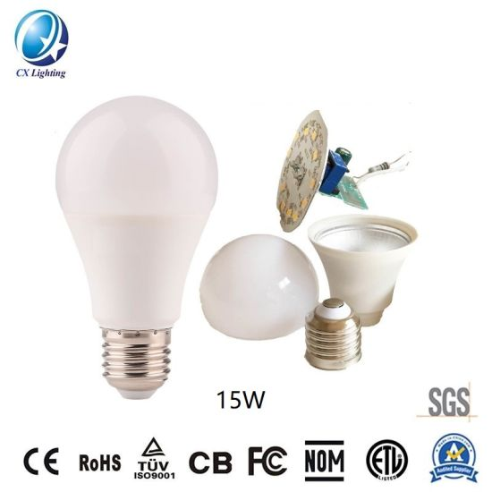 LED Bulb A65 15W SKD 100-265V 1500lm High Quality Global LED Lamp