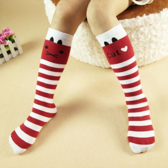 Toddler Baby Kids Girls Children Autumn Winter Soft Knee High Cotton Lace Socks