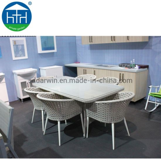 Table And Chair Garden Rattan Wicker