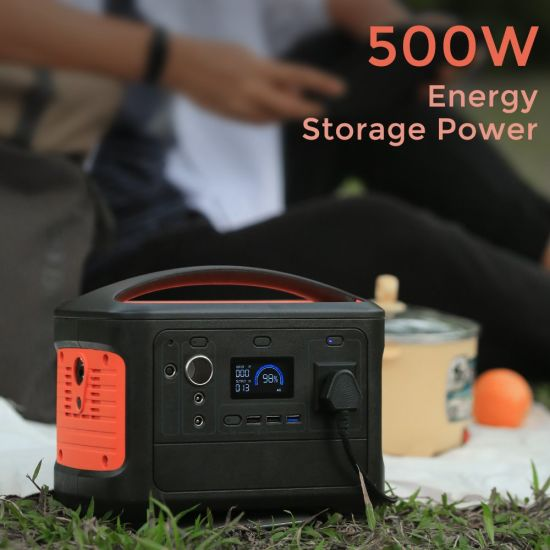 OEM Acceptable 14.8V 38.4ah Online Backup Portable Power Station Solar Generator Power Source Power Station