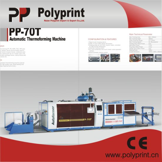 Automatic Cup Thermoforming Machine (PPTF-70T) pictures & photos