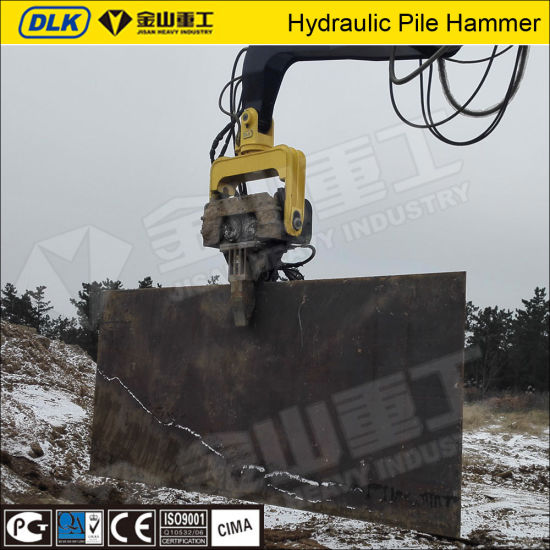 High Quality Excavator Mounted Hydraulic Vibro Hammer Pile Hammer pictures & photos