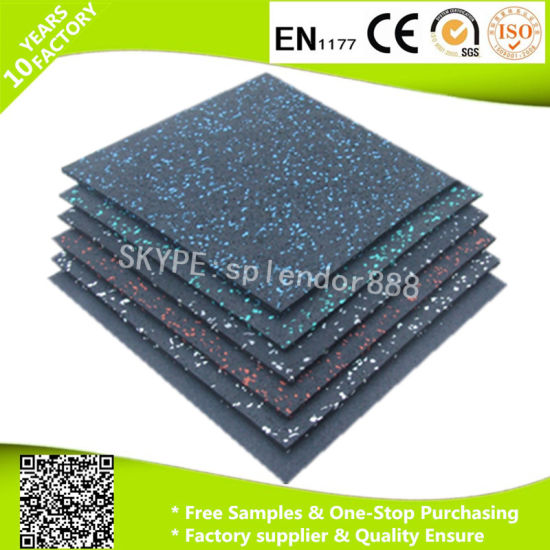 Chinese Factory Cheap Rubber Flooring for Gym - China Rubber