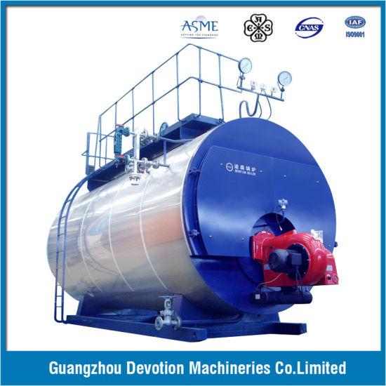 China ASME 8 Ton/Hr Gas, Oil, Dual Fuel Steam Boiler with European ...