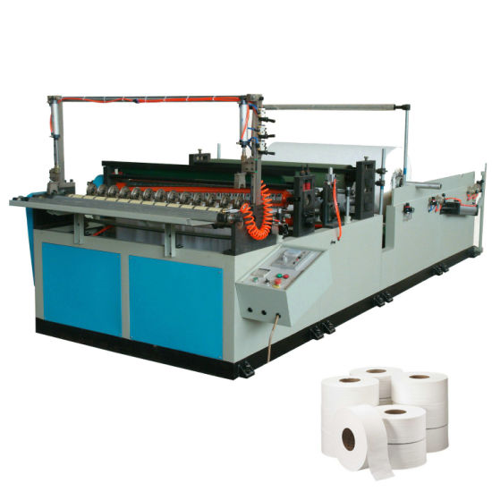 Industrial Toilet Paper Roll Slitting and Rewinding Machine pictures & photos