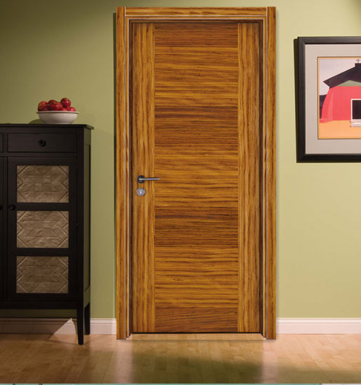 Interior Modern Style Zebrano Smoke Color Bed Room Flush Door Engineered Veneered Smooth Flat Door S7-1010 & China Interior Modern Style Zebrano Smoke Color Bed Room Flush Door ...