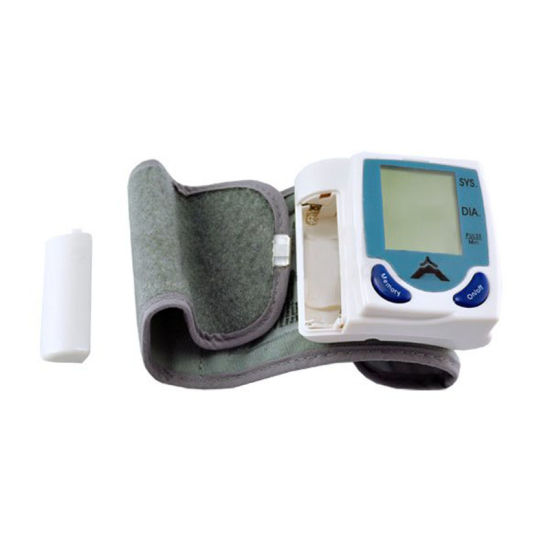 High Quality Digital Wrist Blood Pressure Monitor pictures & photos