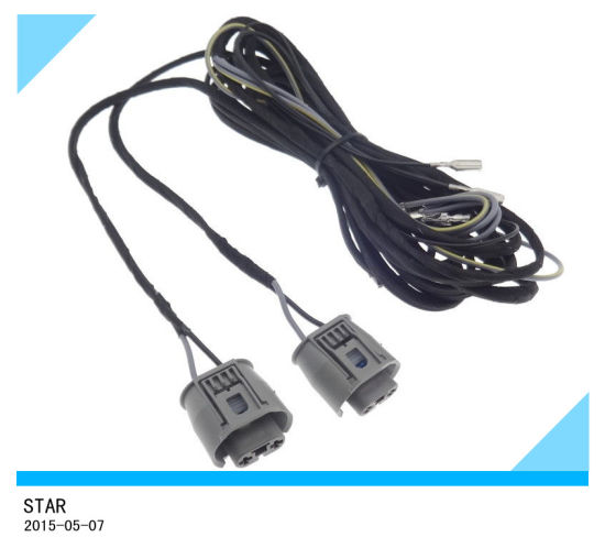china automotive fog light cable wiring harness looms plug of bmw rh starconnect en made in china com