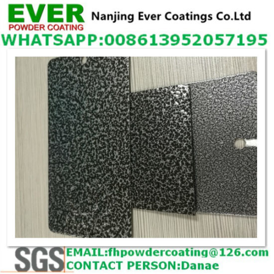 China Silver Vein Hammer Tone Texture Finish Powder Coating Paint