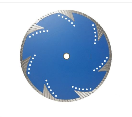 Turbo Segment Silent Diamond Saw Blade for Cutting Masonry (JL-DBST) pictures & photos